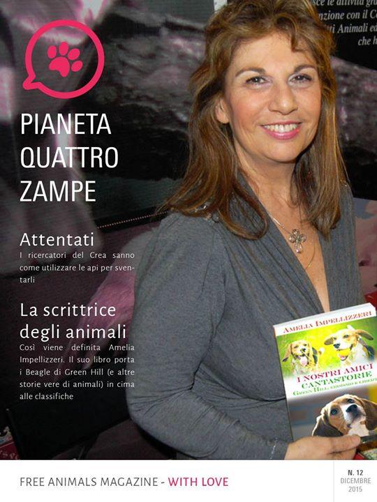 Amelia Impellizzeri, la scrittrice animalista